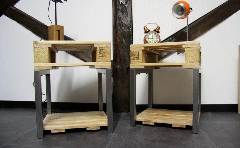 Ma d co maison blog d co diy trucs astuces - Comment fabriquer une table de chevet ...