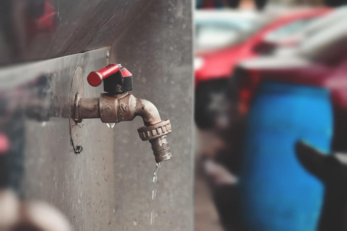 Fuite d'eau au niveau du robinet