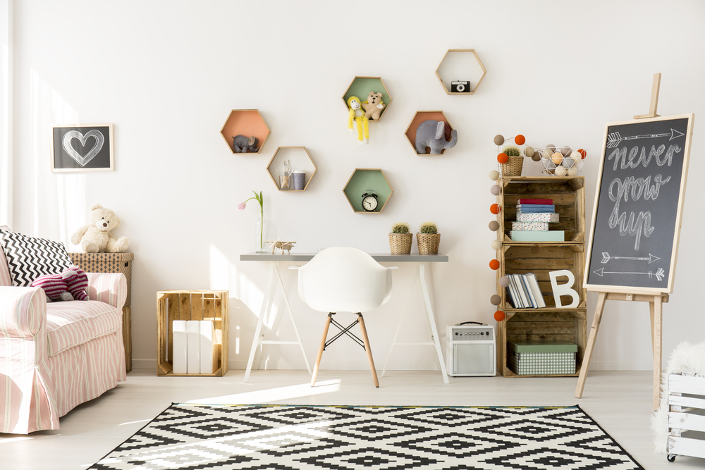 Les diff rents styles de d co pour un bureau enfant ma for Decoration de ma maison
